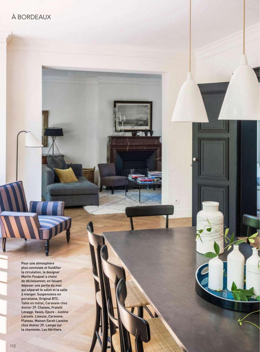 Art & Décoration - mai 2018 - un cocon végétal au cœur de Bordeaux #magazine #magazinedeco #revuedepresse #decoration #artetdecoration