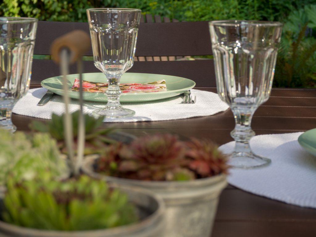 Un Jour de Neige - déco de table d'été #decodetable #ete