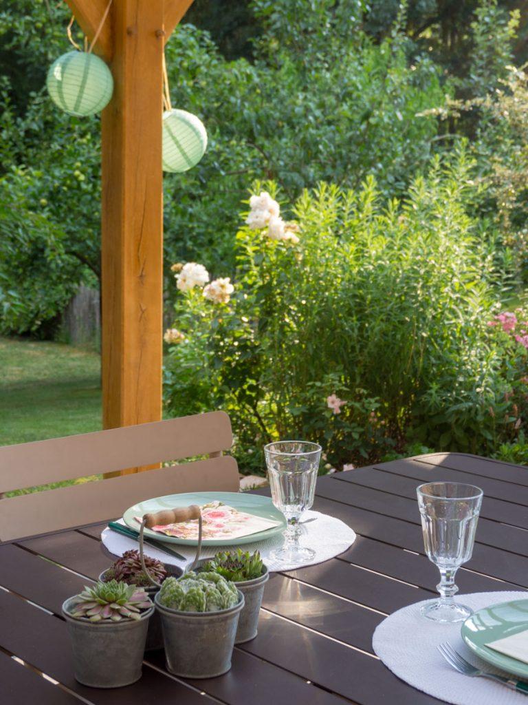 Un Jour de Neige - déco de table estivale