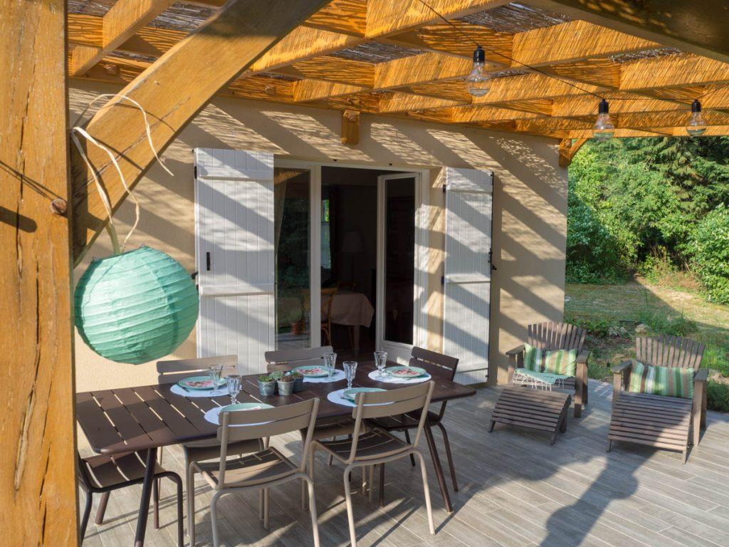 Un Jour de Neige - dîner d'été sur la terrasse #decodetable #terrasse
