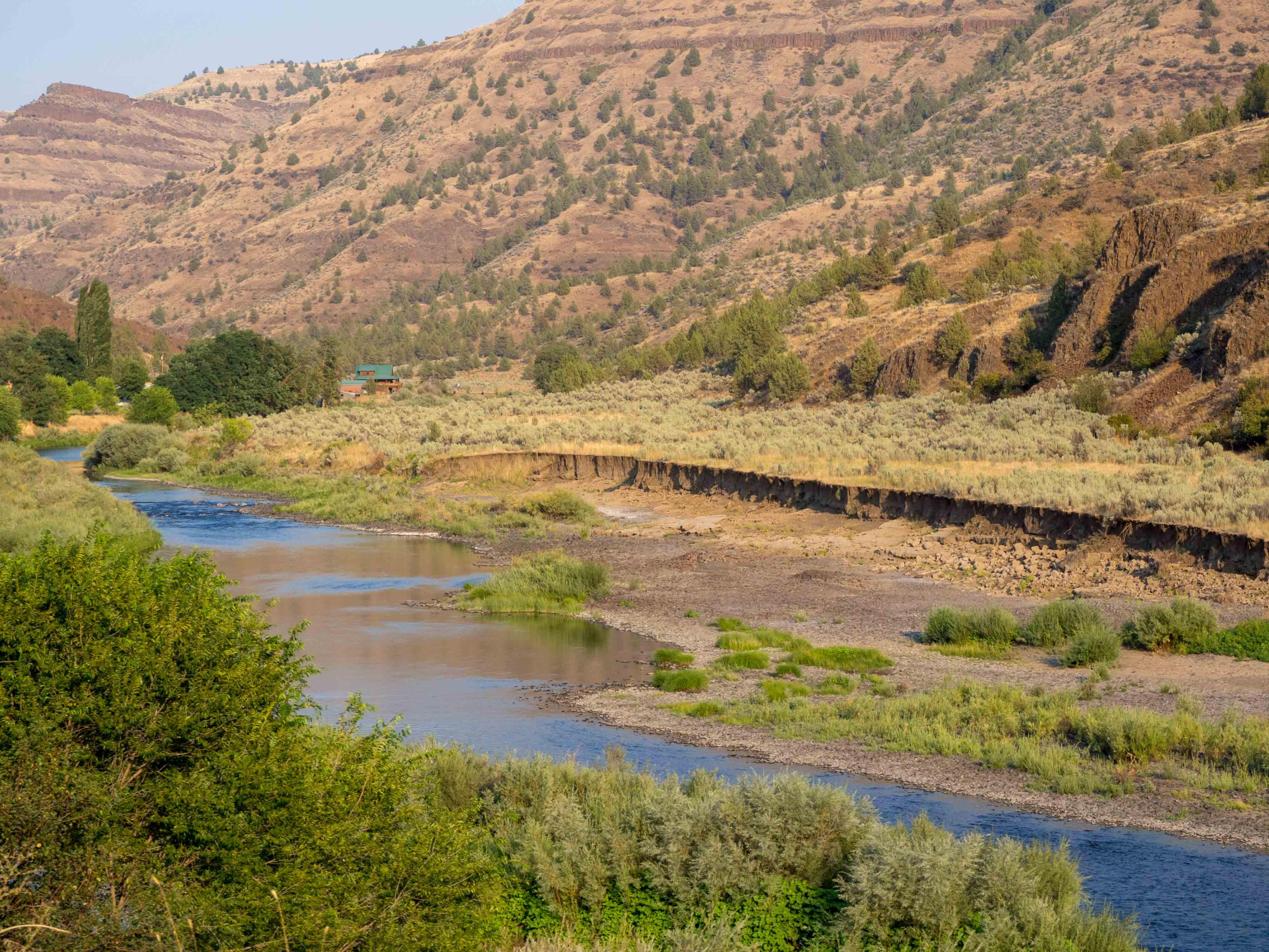 Carnet d'Amérique - Oregon - la John Day River