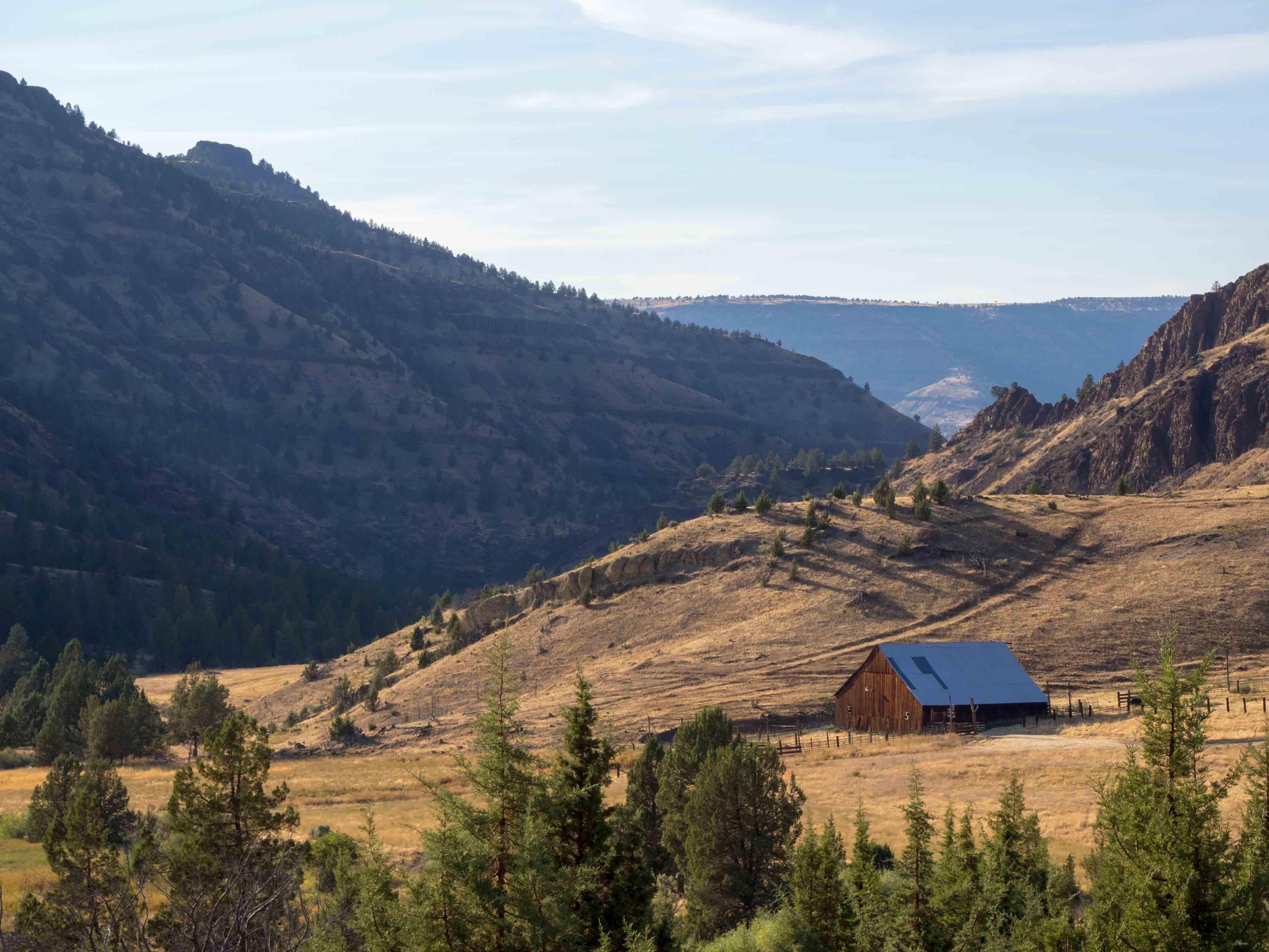 Un Jour de Neige - Carnet d'Amérique - Une ferme en Oregon