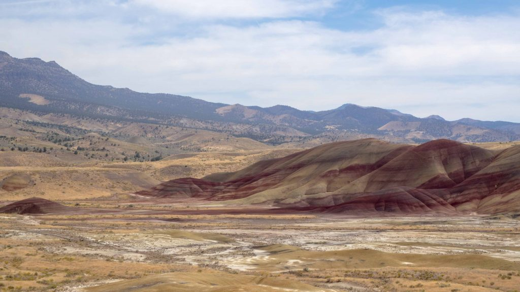 Carnet d'Amérique - Oregon - Les Painted Hills