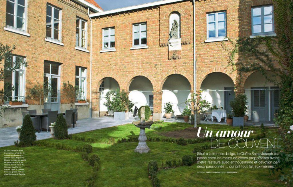 Art & Décoration - HS été 2018 - un ancien couvent en Belgique - Un Jour de Neige