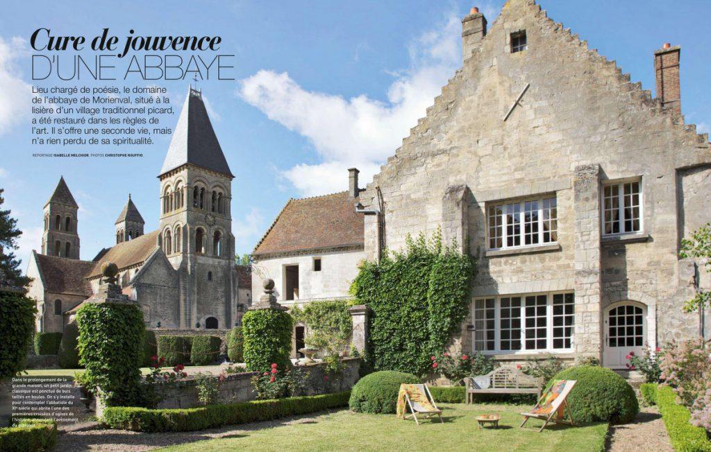 Art & Décoration - HS été 2018 - une abbaye dans l'Oise - Un Jour de Neige