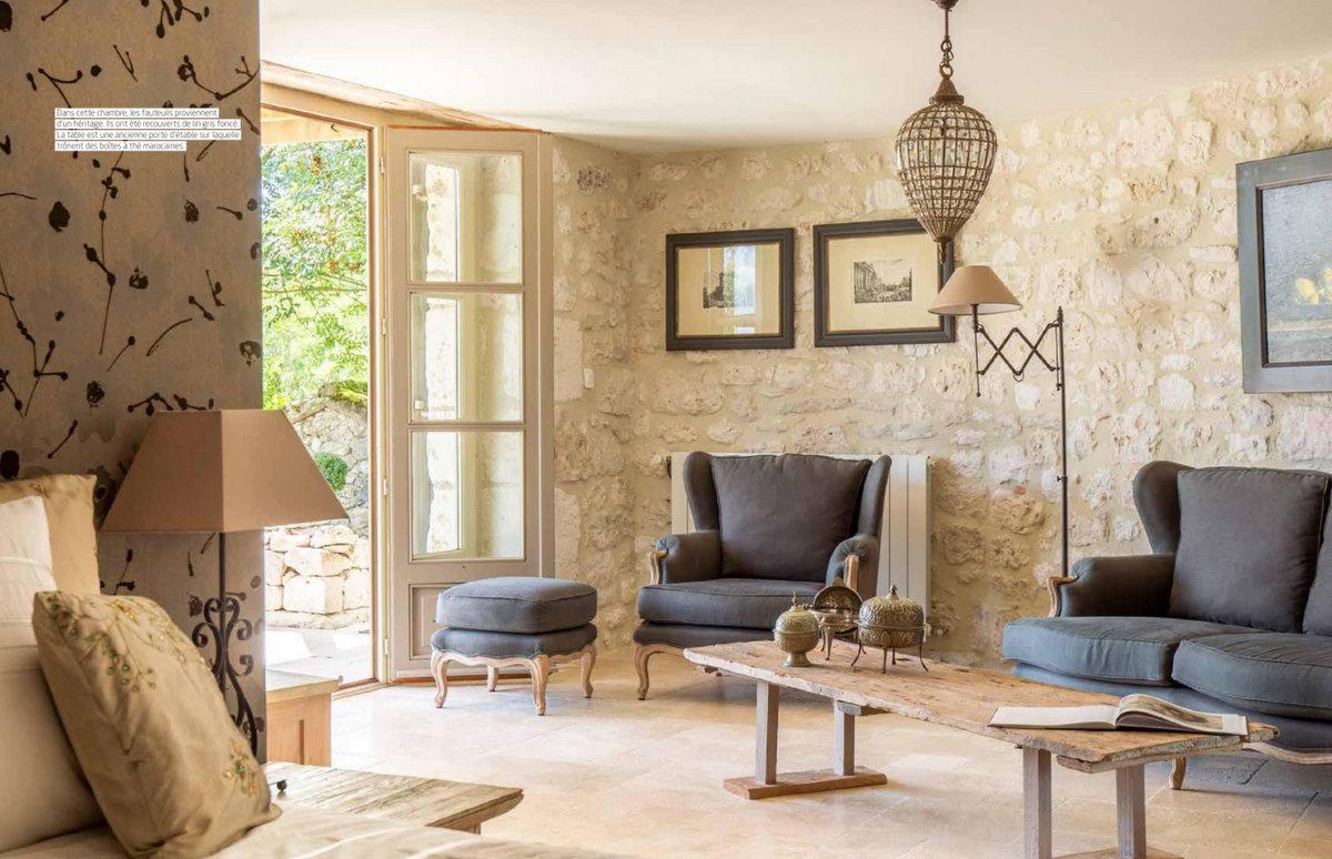 Maisons de Campagne - juillet-août 2018 - une ferme dans le Quercy - Un Jour de Neige
