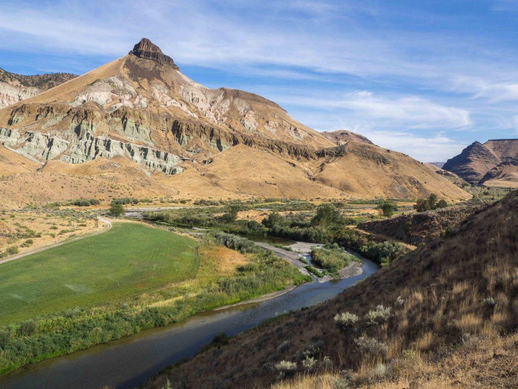 Un Jour de Neige - Carnet d'Amérique - Sheep Rock et la John Day River, Oregon
