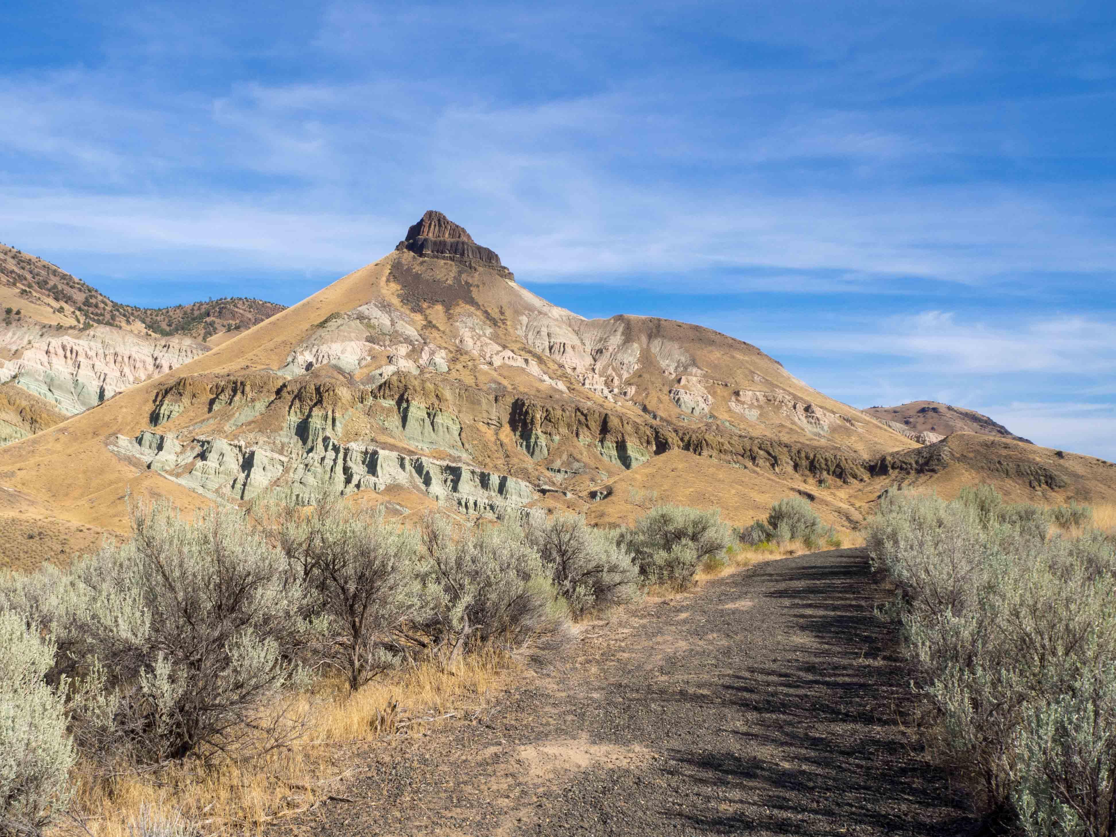 Un Jour de Neige - Carnet d'Amérique - Sheep Rock en Oregon