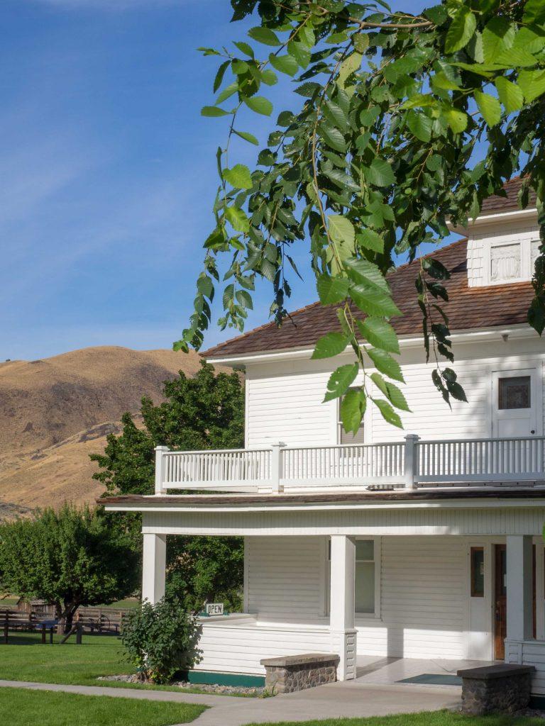 Un Jour de Neige - Carnet d'Amérique - Cant Ranch en Oregon