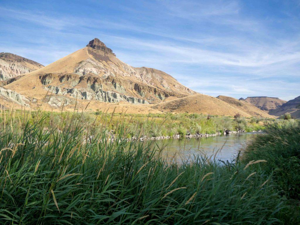 Un Jour de Neige - Carnet d'Amérique - John Day River & Sheep Rock, Oregon
