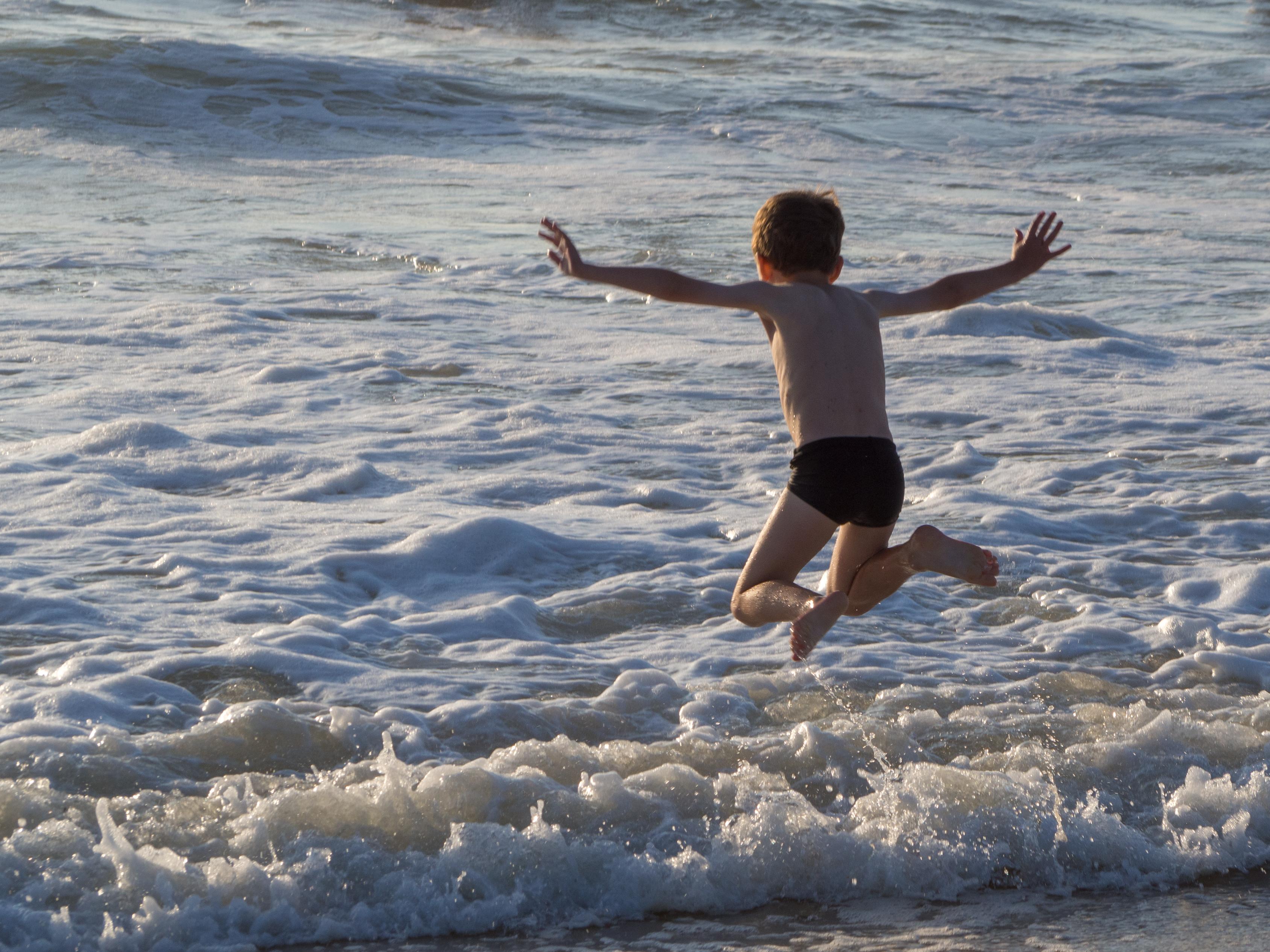Défis photo en vacances - Défi no 28 : arrêt sur image - le grand saut