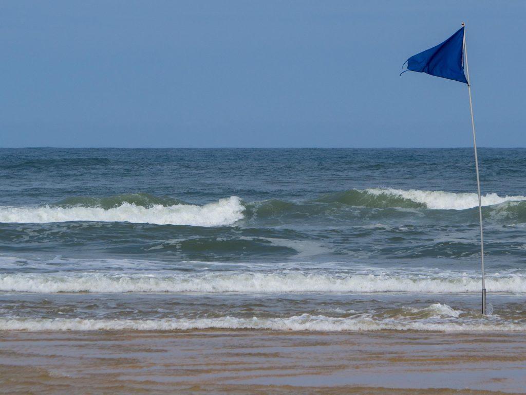 Défis photo en vacances - Drapeau bleu