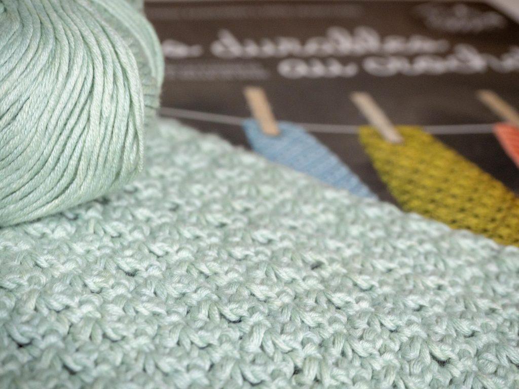 Un Jour de Neige - Lavette au crochet