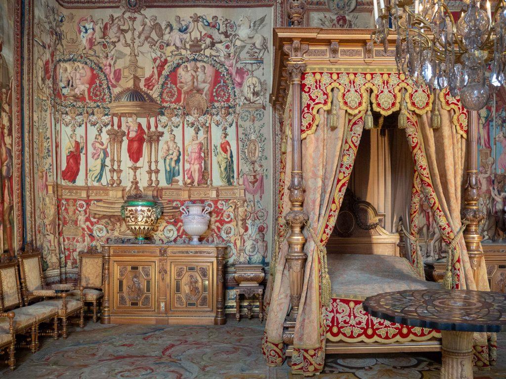 Un Jour de Neige - Le Château de Fontainebleau