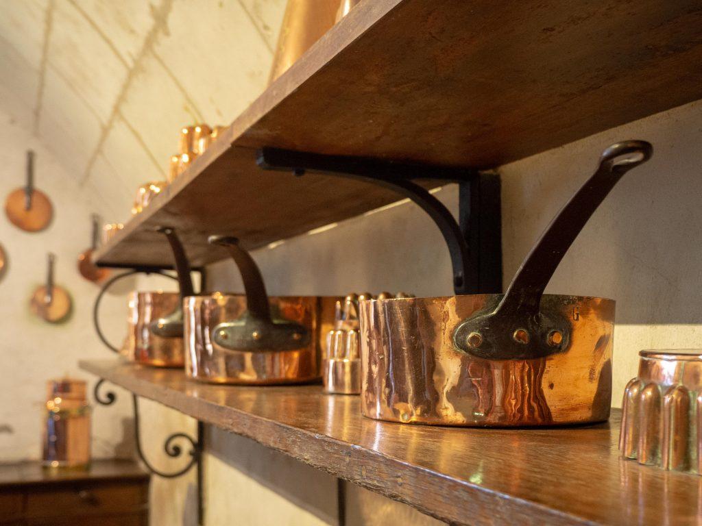 Château de Chenonceau - les cuisines - Un Jour de Neige