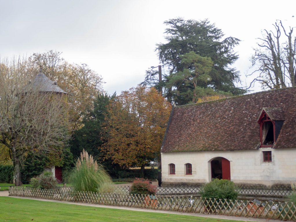 Château de Chenonceau - la ferme du XVIe siècle - Un Jour de Neige