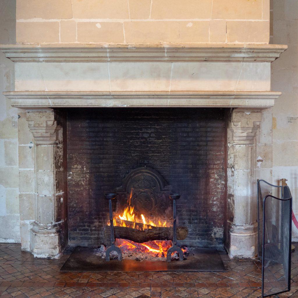 Château de Chenonceau - chambre des cinq reines - Un Jour de Neige