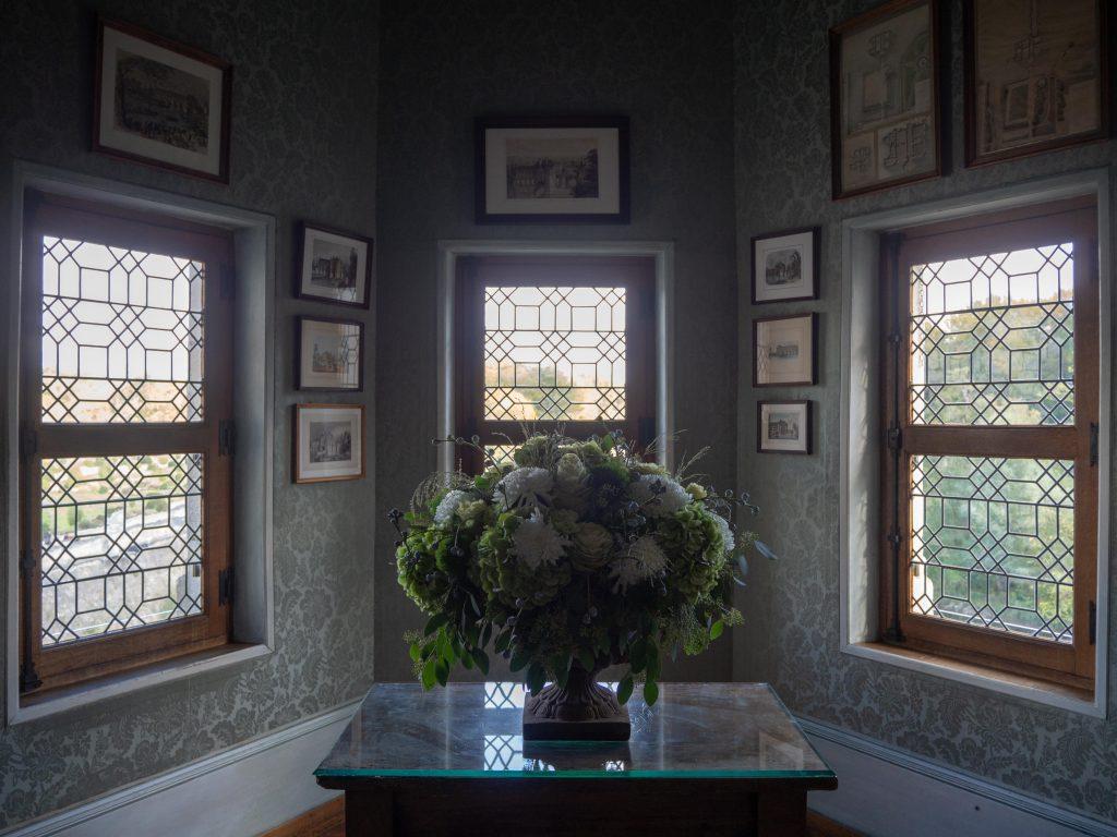 Château de Chenonceau - le cabinet des Estampes - Un Jour de Neige