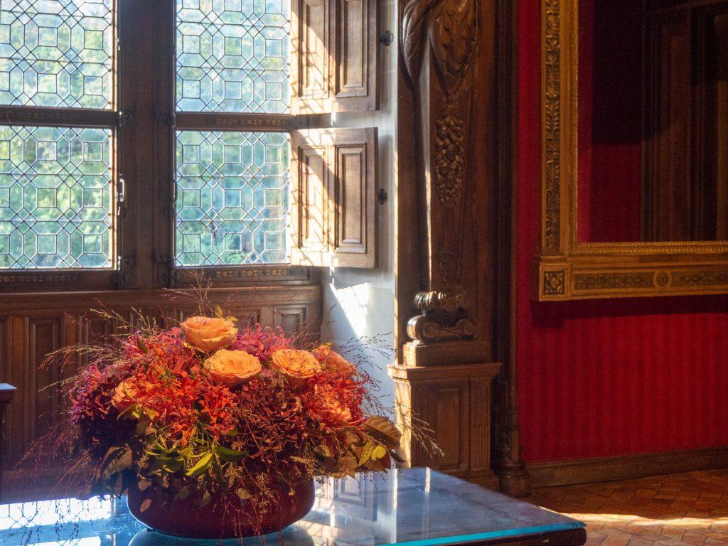 Château de Chenonceau - la chambre de César de Vendôme - Un Jour de Neige