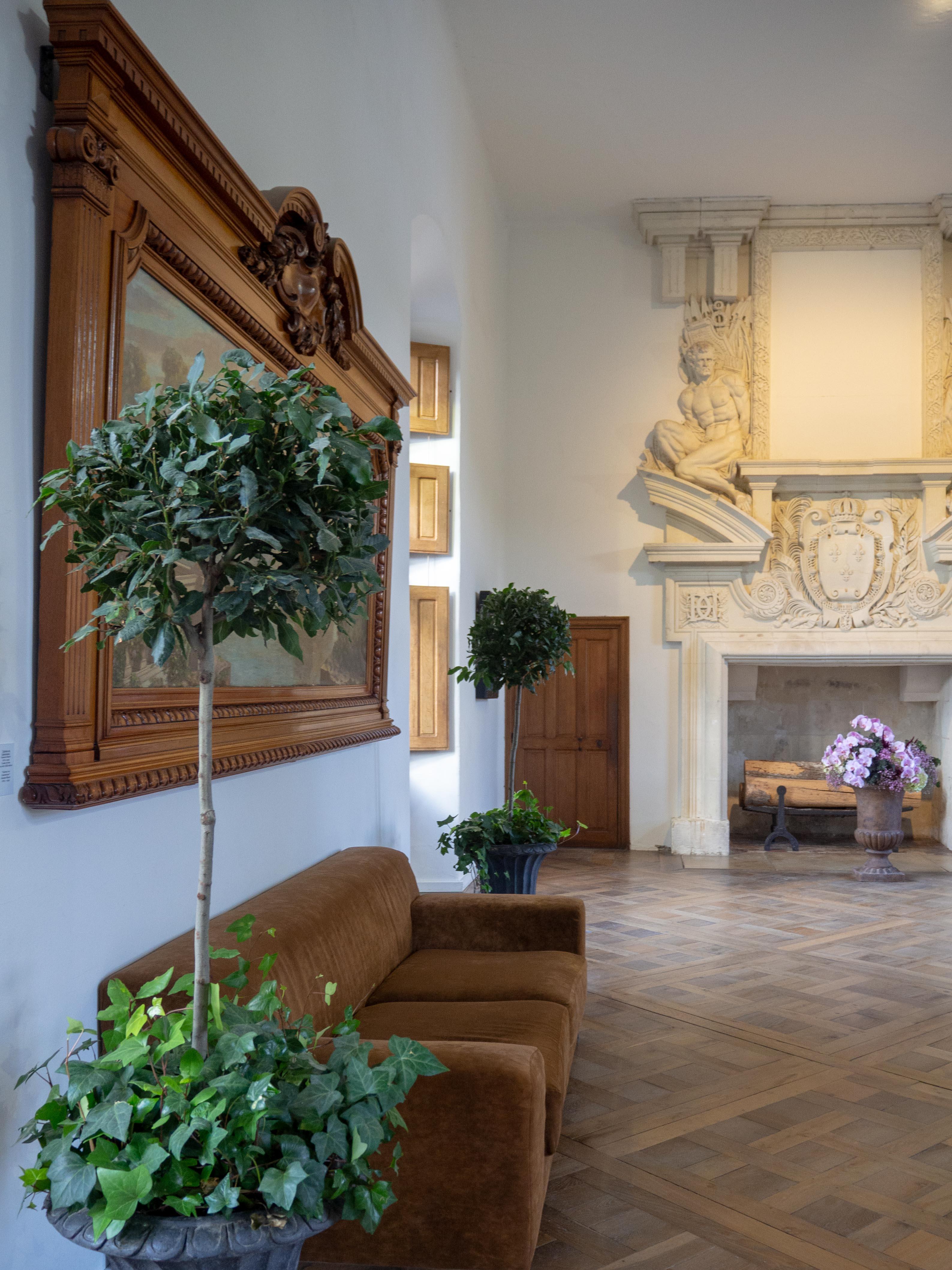 Château de Chenonceau - la galerie du 1er étage - Un Jour de Neige