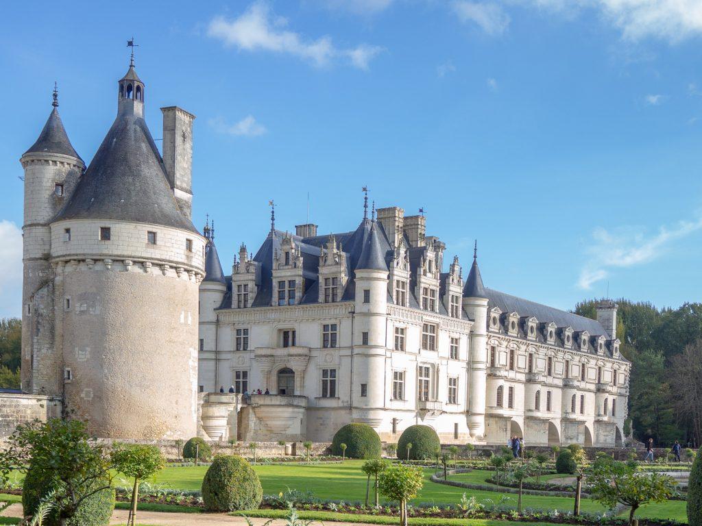 Le château de Chenonceau et le jardin de Catherine de Médicis - Un Jour de Neige