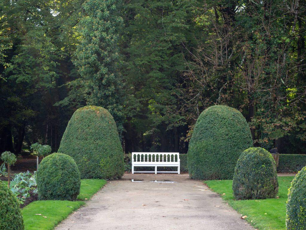Château de Chenonceau - le jardin de Catherine de Médicis - Un Jour de Neige