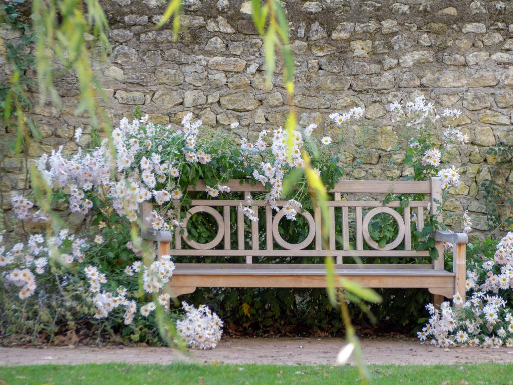 Château de Chenonceau - jardin Russell Page - Un Jour de Neige