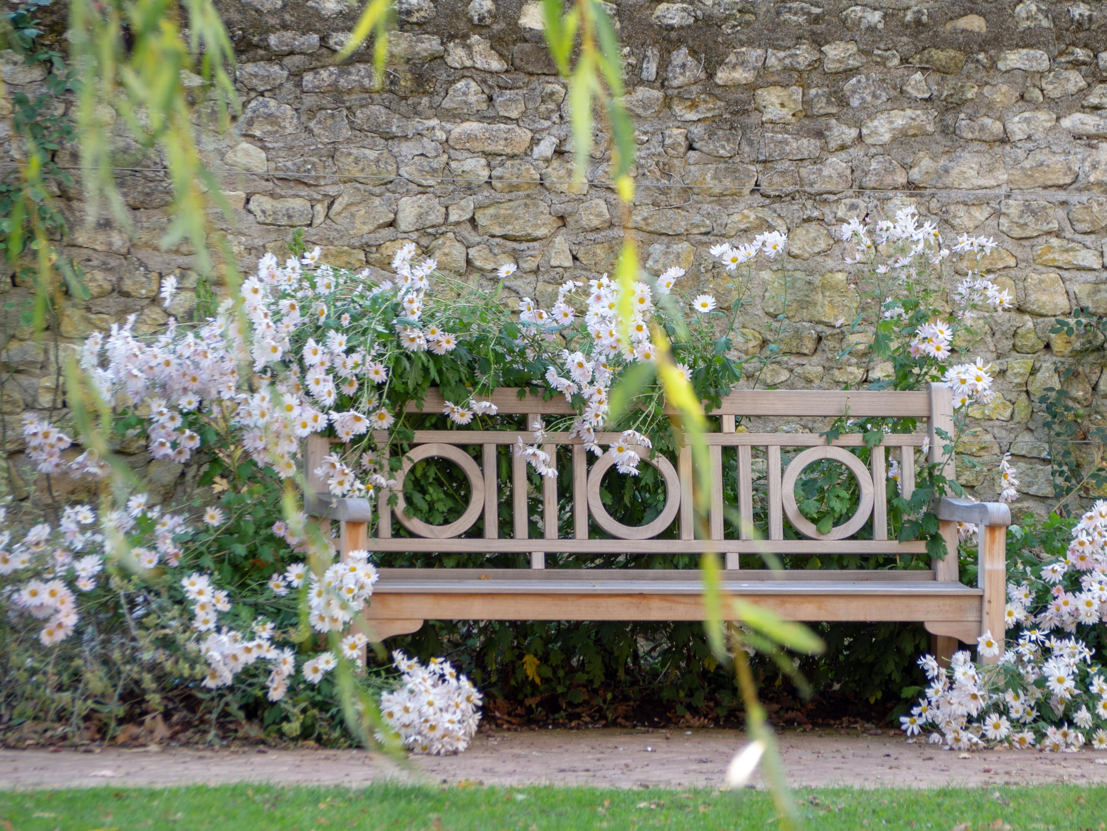 Château de Chenonceau - jardin Russel Page - Un Jour de Neige