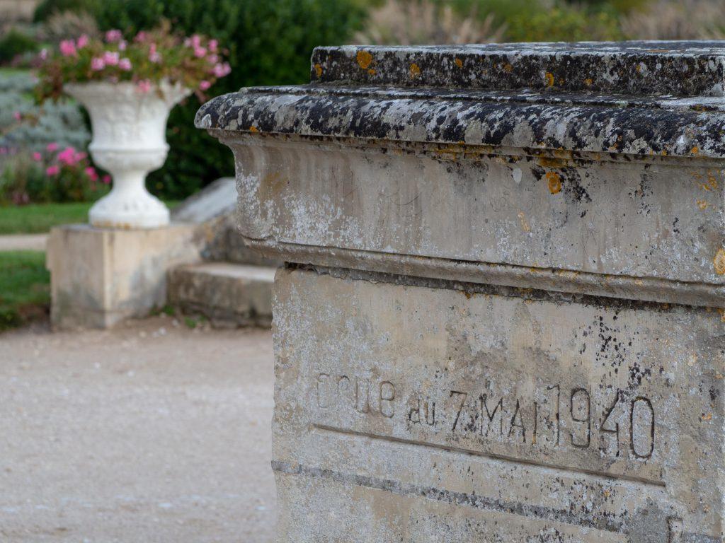 Château de Chenonceau - Le jardin de Diane - Un Jour de Neige