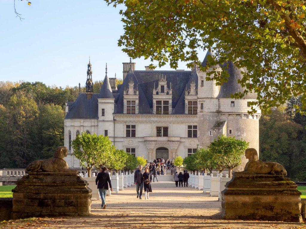 Le château de Chenonceau - Un Jour de Neige #chenonceau #chateauxdelaloire