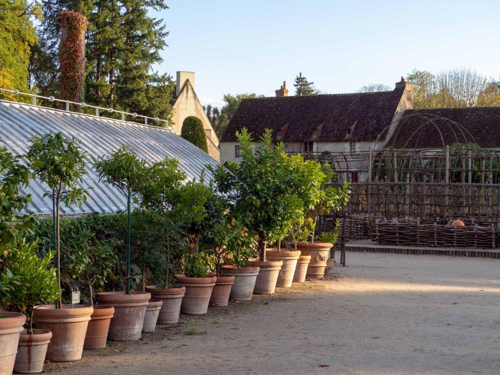 Château de Chenonceau - le potager - Un Jour de Neige