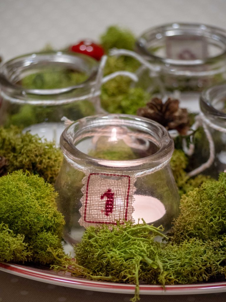 Bougies de l'Avent - Un Jour de Neige