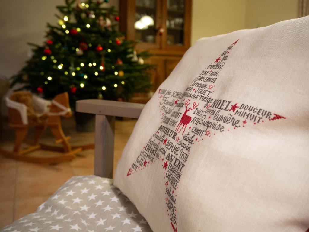 SAL Etoile de Noël (Histoires de Lin) - Un Jour de Neige
