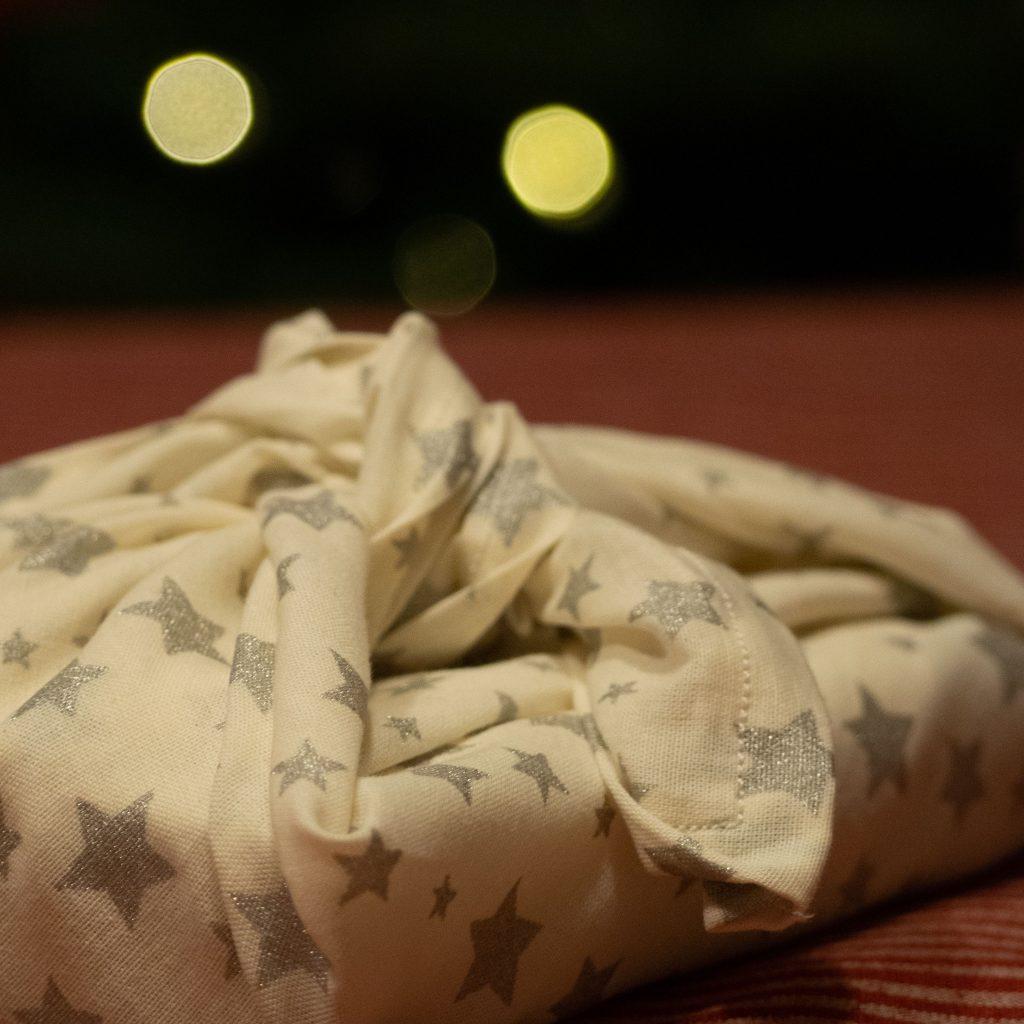 Furoshiki de Noël - Un Jour de Neige