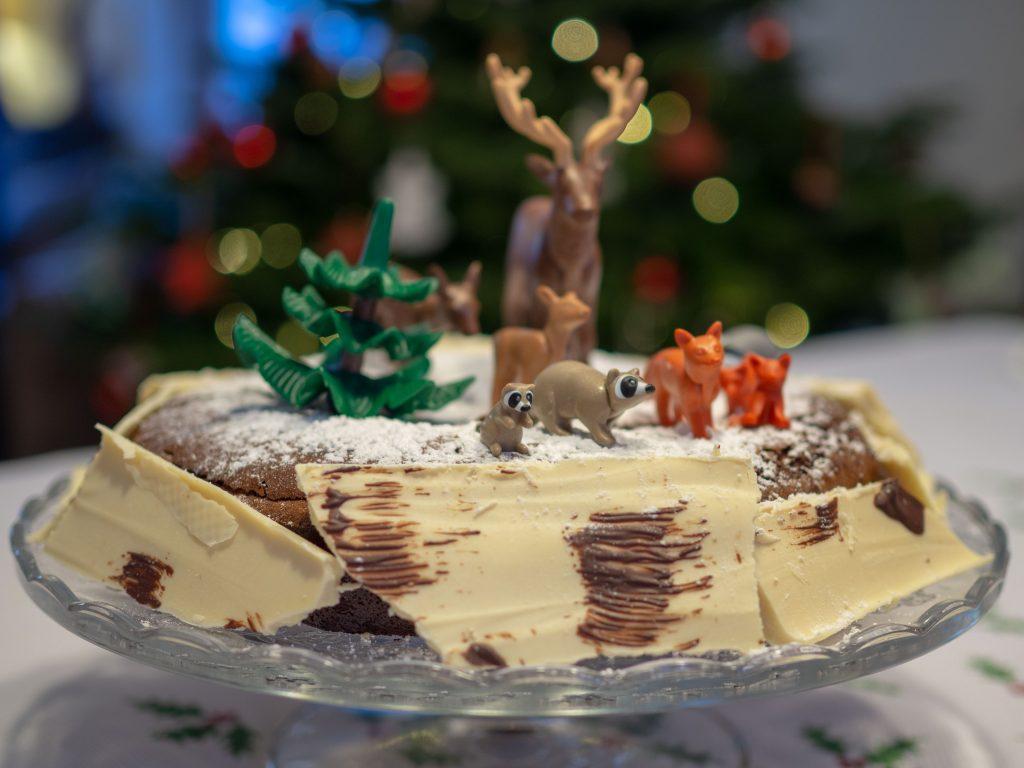 Gâteau de Noël - Un Jour de Neige