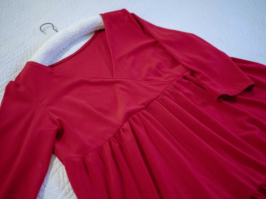 Ma robe de fêtes Eugénie : le corsage - Un Jour de Neige