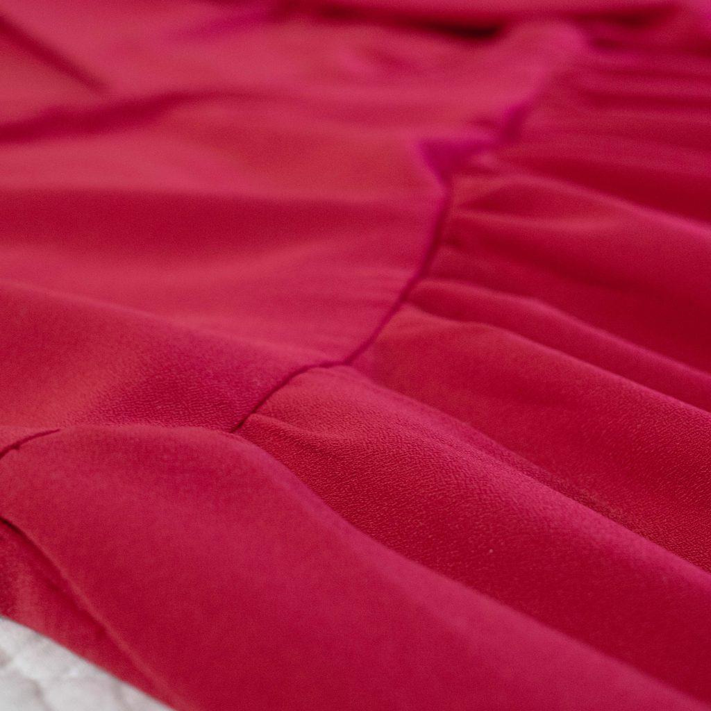 Ma robe de fêtes Eugénie : les fronces - Un Jour de Neige