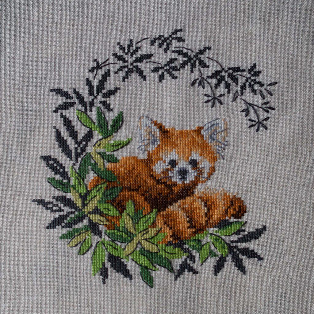 Un Jour de Neige - Panda roux - Véronique Enginger