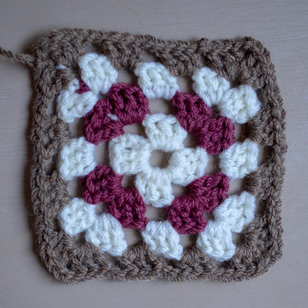 Un Jour de Neige - Granny au crochet
