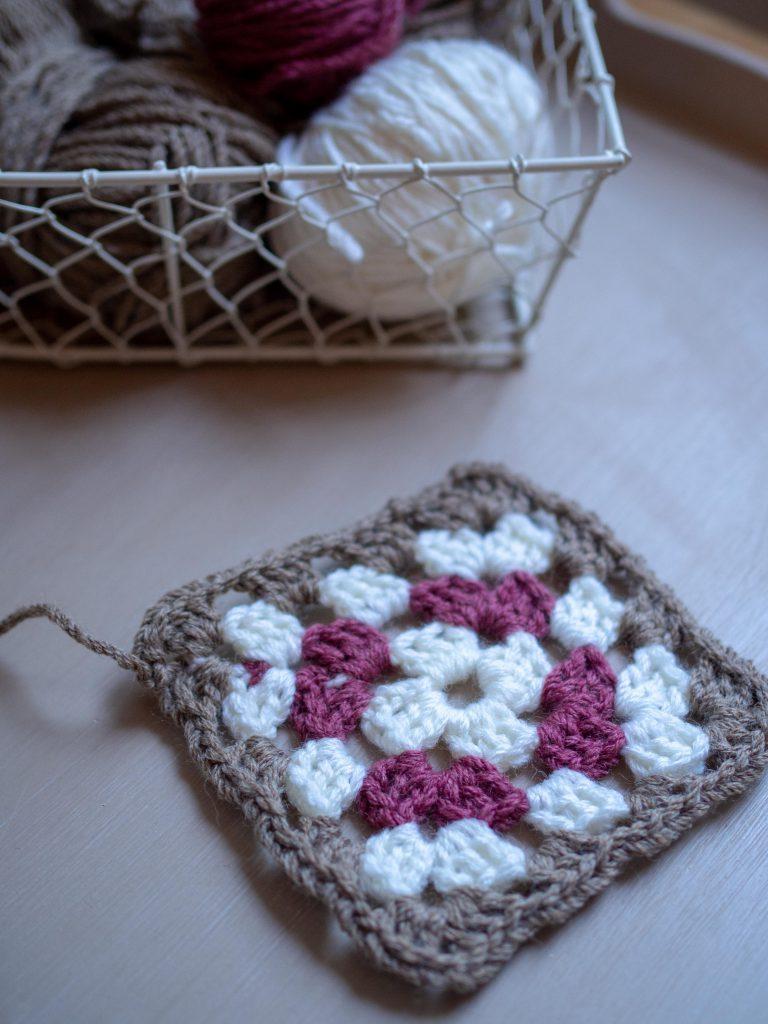 Un Jour de Neige - Grannies au crochet