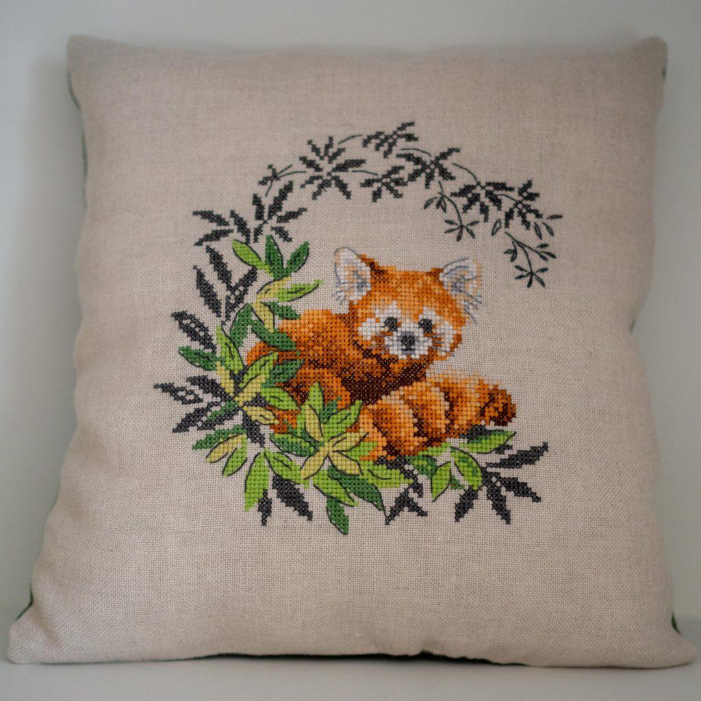 Panda roux - Un Jour de Neige