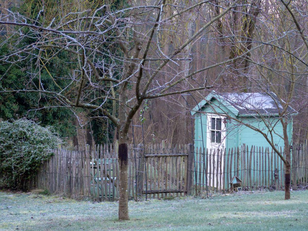 Un Jour de Neige - le jardin en février