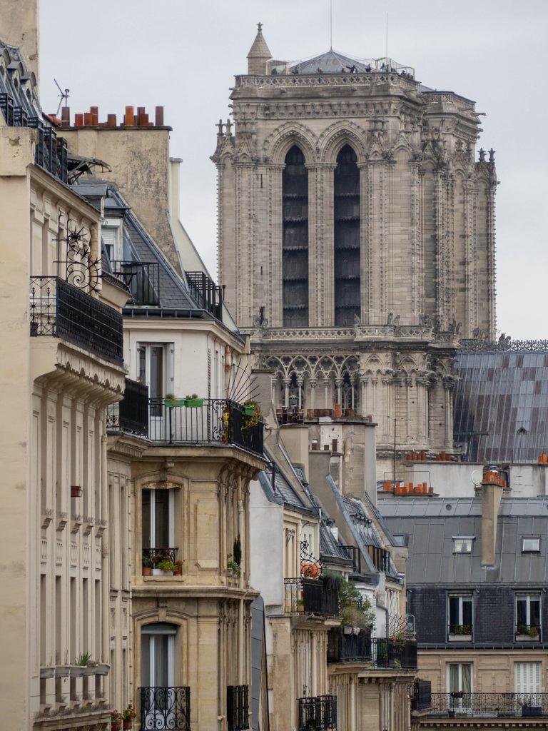 Un Jour de Neige - Balade dans le 5e arrondissement