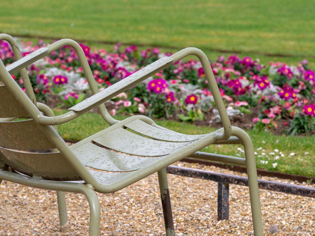 Un Jour de Neige - Au jardin du Luxembourg