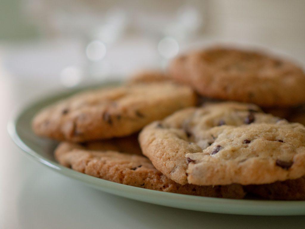 Un Jour de Neige - Des cookies au chocolat pour le goûter