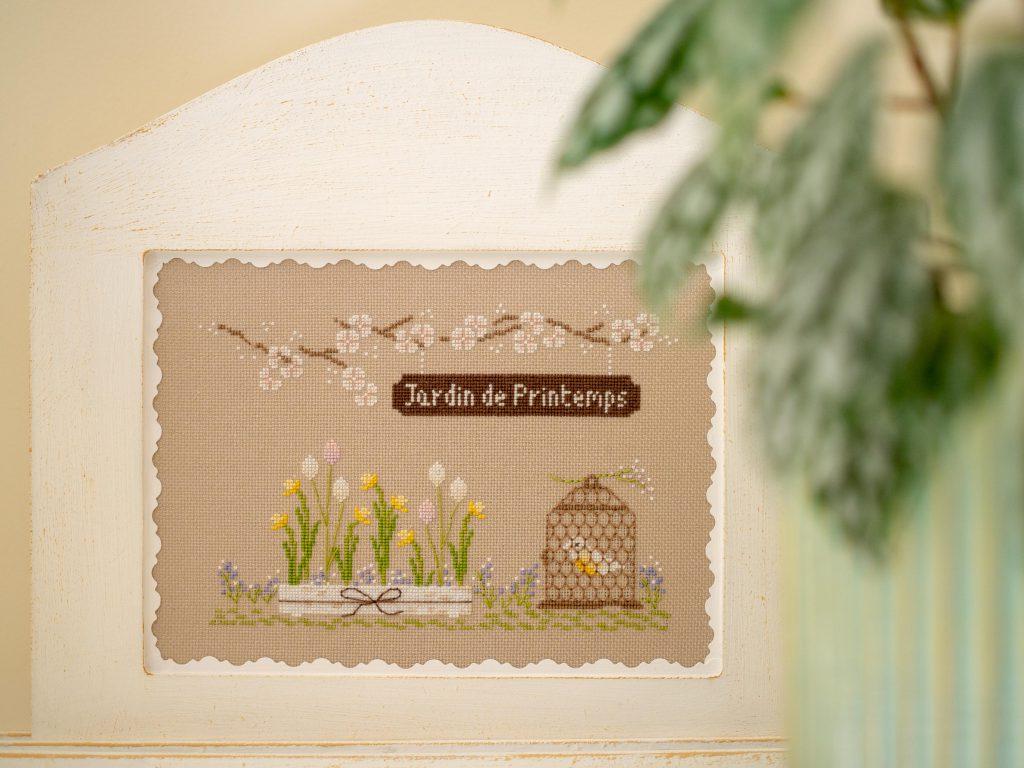 Un Jour de Neige - Jardin de printemps - Une Croix le Temps d'un Thé