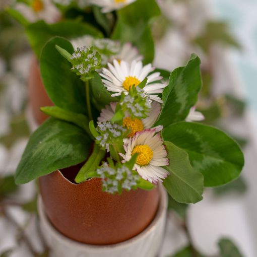 Un Jour de Neige - Pâques 2019 : déco florale