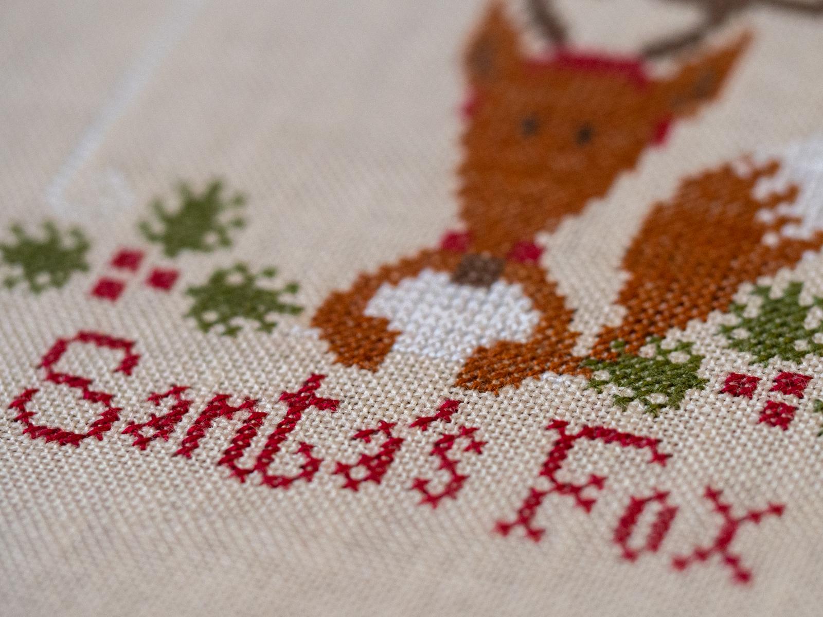 Santa's Fox - Mme Chantilly