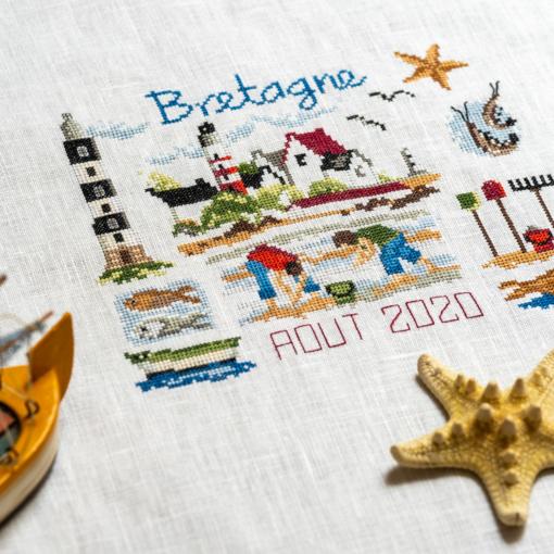 Broder les régions de France : la Bretagne